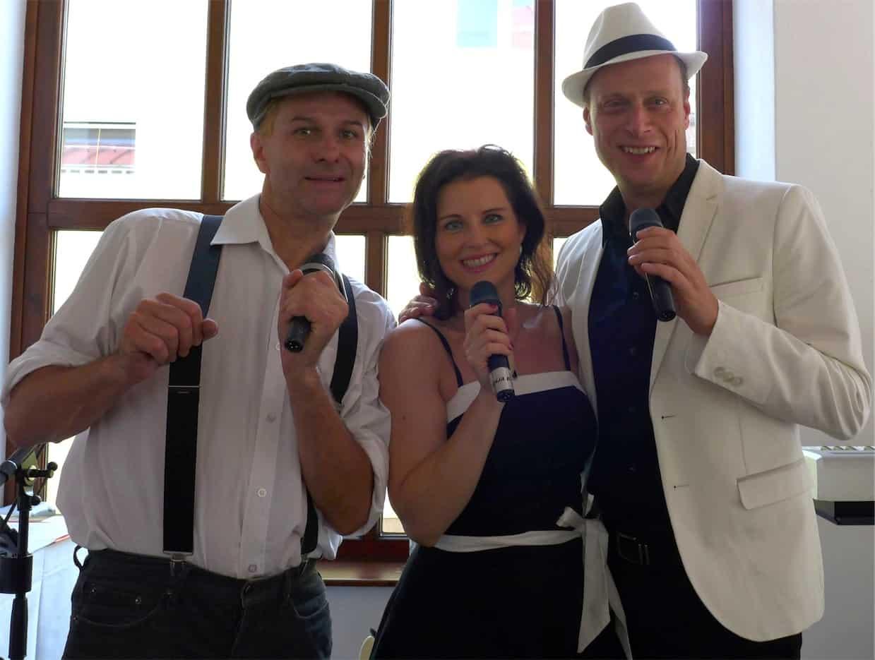 Hochzeitsband Just Married aus Wien – Trio